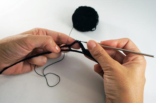 05_ black crochet