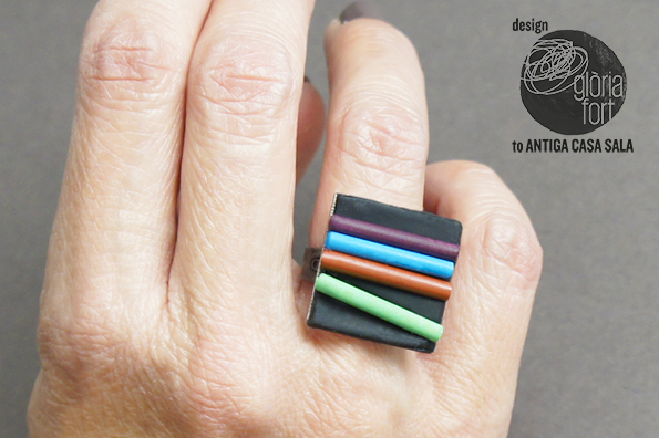 Anillo CRAYON_Gloria Fort
