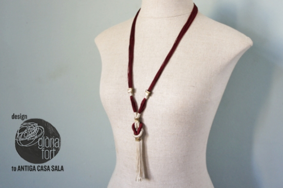 Collar KNOT _ Gloria Fort