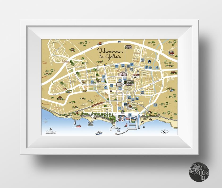 vilanova mapa: